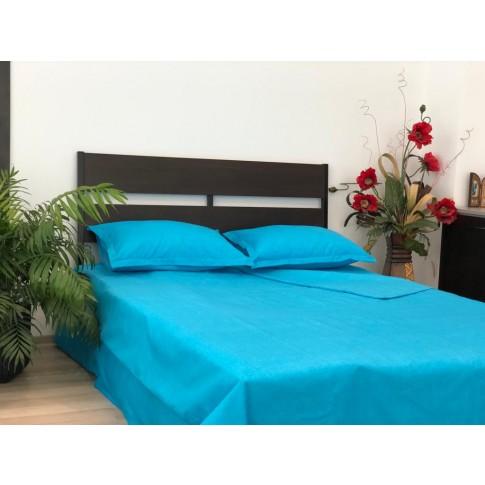 Lenjerie de pat Liana, 2 persoane, microfibra, 4 piese