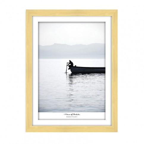 Tablou TA20-AP05150-1, peisaj, carton, cu rama, 40 x 30 cm