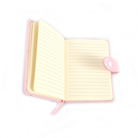 Agenda + portofel Arhi Design, model Pisicute, format A6, 96 file, set cadou