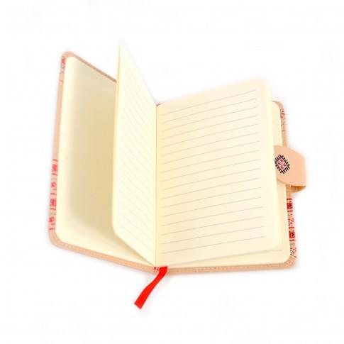 Agenda + portofel Arhi Design, model Traditional, format A6, 96 file, set cadou