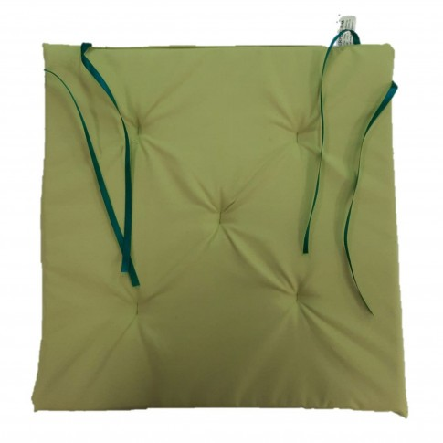 Perna scaun Atria, poliester, verde, 38 x 37 cm