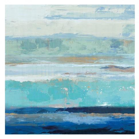 Tablou canvas Decor, abstract CV08455, panza + sasiu, 60 x 60 cm