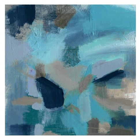 Tablou canvas Decor, abstract CV07789, panza + sasiu, 60 x 60 cm