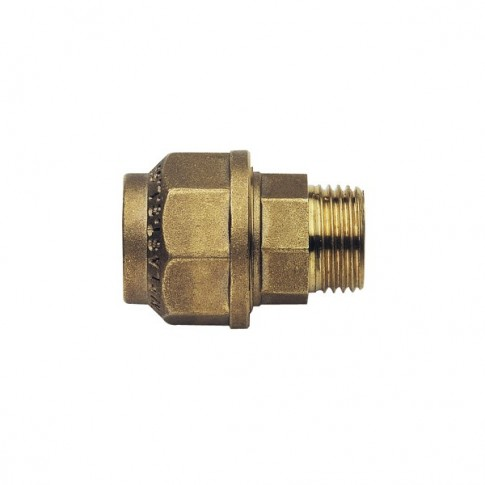 "Racord compresie alama, FE, D 63 mm x 2"", 490RM2063"