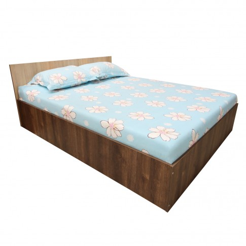 Dormitor Anda, pat + ancadrament, stejar bronz + stejar sonoma, 6C