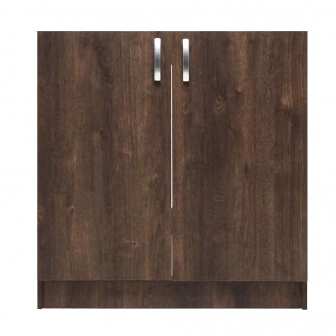 Masca chiuveta bucatarie, stejar bronz, 80 x 51.5 x 83 cm, 1C