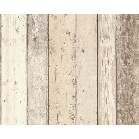 Tapet vlies, model lemn, AS Creation New England 2 895110, 10 x 0.53 m