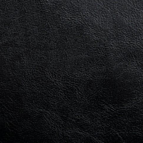Scaun bucatarie / living fix Markos, tapitat, otel cromat + imitatie piele neagra, 3C