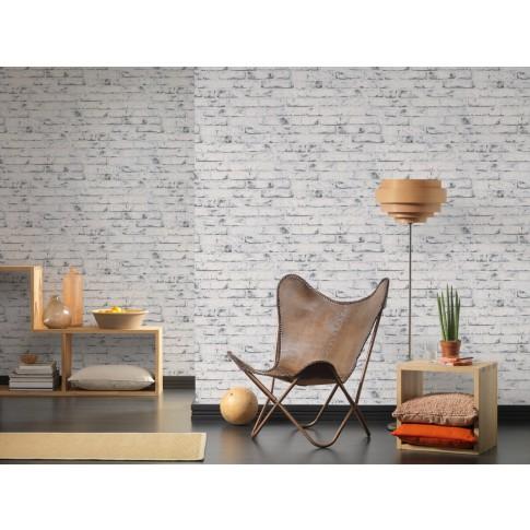 Tapet vlies, model caramida, AS Creation Wood'n Stone 907837, 10 x 0.53 m