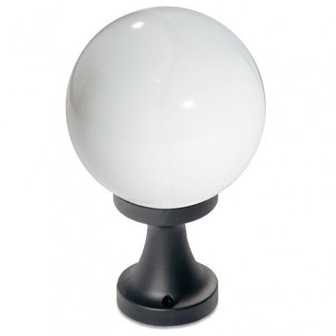 Corp de iluminat pentru exterior Sfera 9765, 1 x E27, H 33 cm, D 20 cm, opal