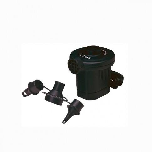 Pompa aer pentru produse gonflabile, electrica 230 V, Intex 66620/66640 + 3 adaptoare