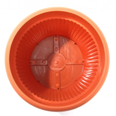 Ghiveci din plastic Hobby, maro D 30 cm
