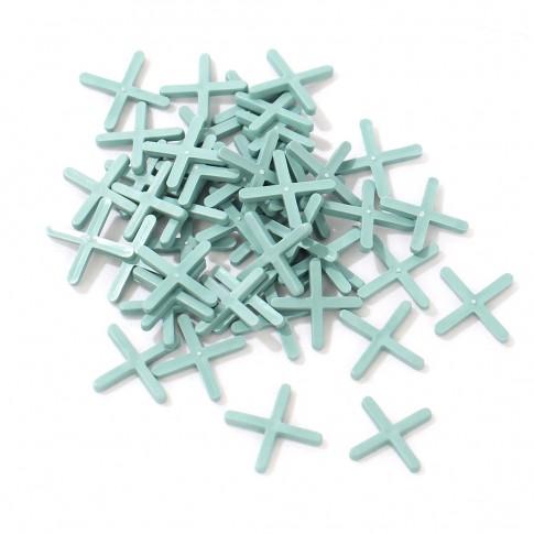 Distantiere pentru gresie si faianta 3 mm (100 buc)