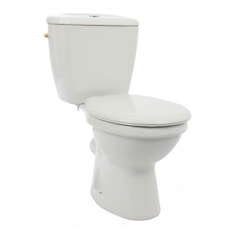 Set vas WC + rezervor + mecanism + capac Kadda, ceramica, 36.5 x 67 x 77 cm