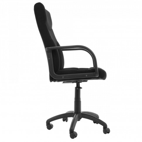 Scaun birou directorial Riva T, rotativ, stofa C11, negru