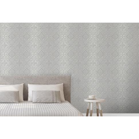 Tapet fibra textila, model floral, Grandeco Florence A37902, 10 x 0.53 m