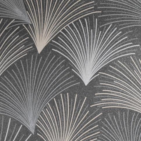 Tapet fibra textila, model frunze, Grandeco Gatsby A43904, 10 x 0.53 m