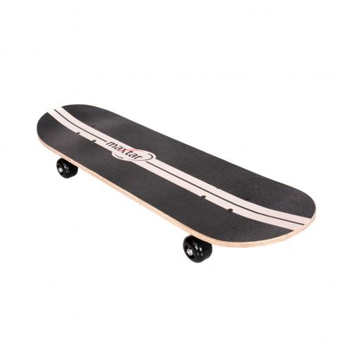 Skateboard Blazer Maxtar, lemn, negru, 71 x 20 cm