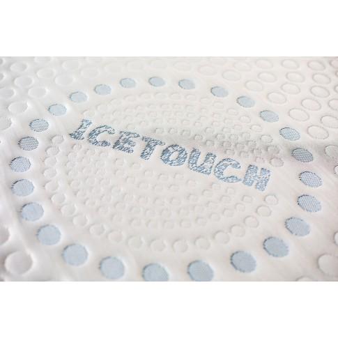 Saltea pat Bedora Ice Touch, superortopedica, 140 x 200 cm, cu spuma poliuretanica + memory + cocos, fara arcuri