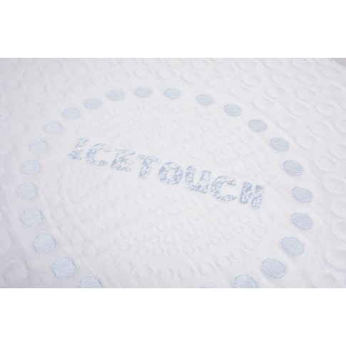 Topper saltea Bedora Ice Touch, 90 x 200 cm, cu spuma memory