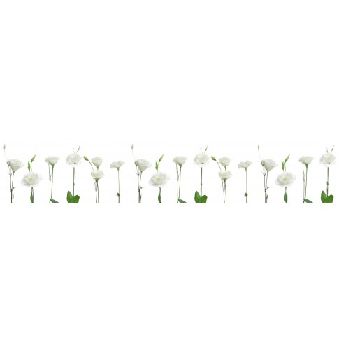 Panou decorativ bucatarie Splashback, compozit, luminescent, SPB 071, floral, 2000 x 750 x 3 mm