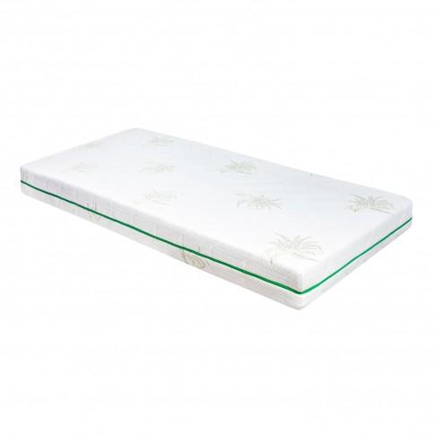 Saltea pat Adormo Ortopedic Green Line, cu spuma poliuretanica, fara arcuri, 130 x 190 cm
