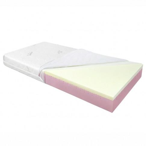 Saltea pat Adormo Memory 14+4, 1 persoana, cu spuma poliuretanica + memory, fara arcuri, 110 x 190 cm