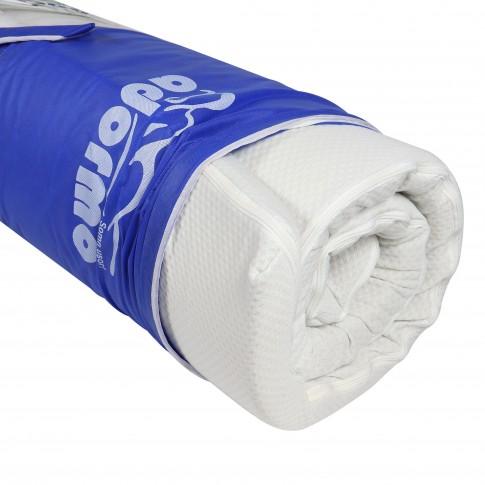 Topper saltea Adormo Memory Relax, 80 x 190 cm, cu spuma memory
