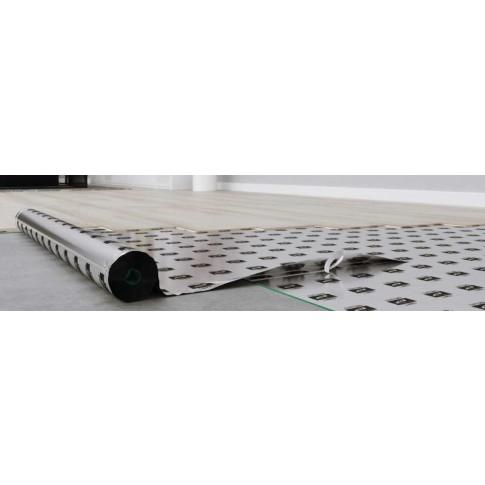 Substrat din polistiren extrudat pentru laminat, 3 in 1, Arbiton Secura AquaStop, 2 mm, cu bariera de vapori, rola 13.64 x 1.1 m