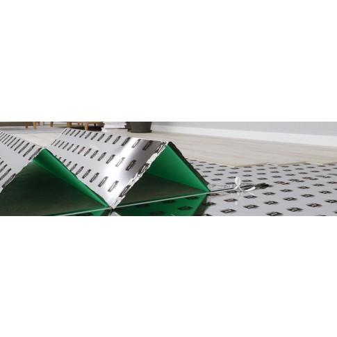 Substrat din polistiren extrudat pentru laminat, 3 in 1, Arbiton Secura Extra AquaStop Smart, 3 mm, cu bariera de vapori, 5.1 x 1.18 m