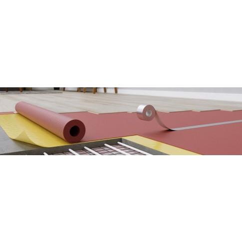 Substrat din polistiren extrudat pentru laminat, Arbiton Secura Thermo, pentru incalzire prin pardoseala, 1.6 mm, rola 15 x 1.1 m