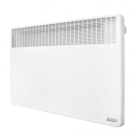 Convector electric Atlantic Bonjour, 1500 W, 606 x 450 x 78 mm, termostat electromecanic