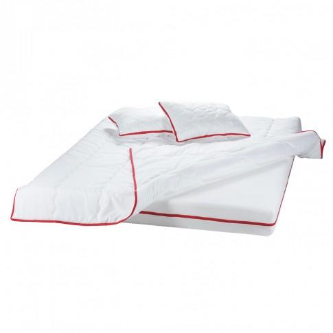 Saltea pat Bedora Confort Relax, cu spuma poliuretanica + memory, fara arcuri, 160 x 200 cm + pilota + perne