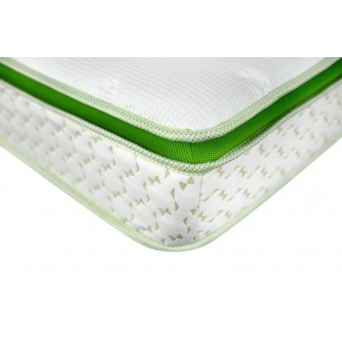 Saltea pat Bedora Viva Latex Plus, ortopedica, cu spuma poliuretanica + latex, fara arcuri, 140 x 200 cm