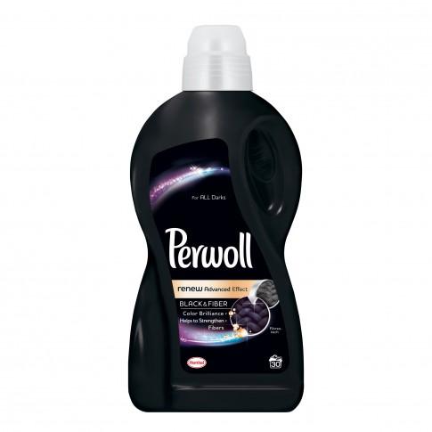 Detergent de rufe, lichid, Perwoll Advanced Black 1.8L