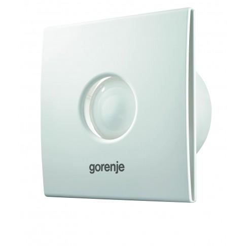 Ventilator cu timer si senzor umiditate Gorenje BVX120WHS, D 120 mm, 20 W, 2500 RPM, 120 mc/h, alb