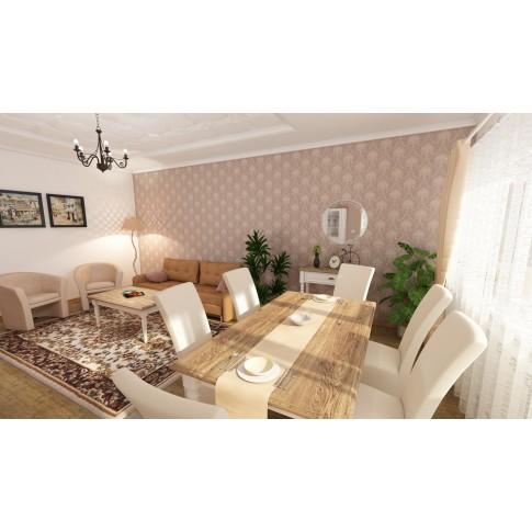Tapet fibra textila, model floral, Rasch Trianon 514971, 10 x 0.53 m