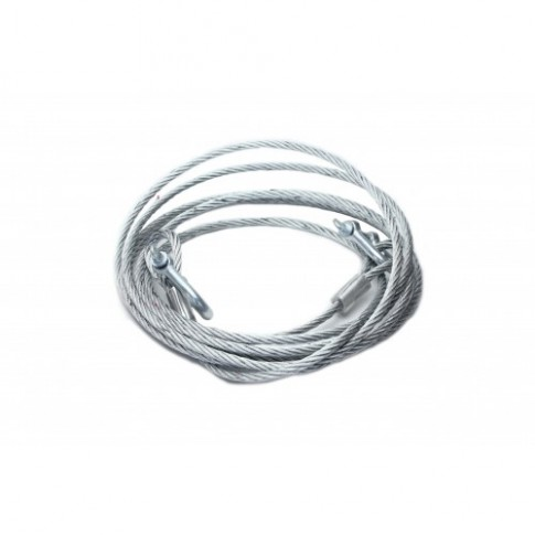 Cablu auto pentru tractare, otel, sarcina 5 tone
