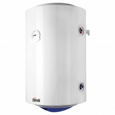 Boiler termoelectric Ferroli Calypso VEMT 150, cu serpentina, 130 L, 1500 W