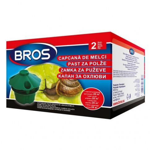 Capcana pentru melci si limacsi, Bros