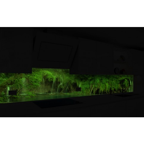 Panou decorativ bucatarie Splashback, compozit, luminescent, SPB 073, peisaj, 2600 x 600 x 3 mm