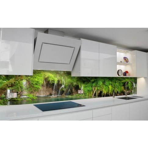Panou decorativ bucatarie Splashback, compozit, luminescent, SPB 073, peisaj, 2600 x 750 x 3 mm