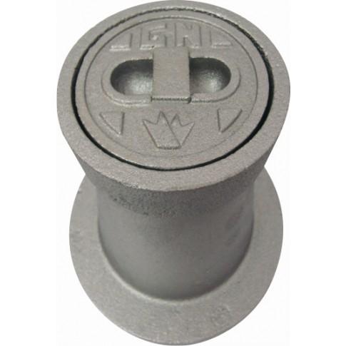 Caseta protectie gaze naturale, fonta