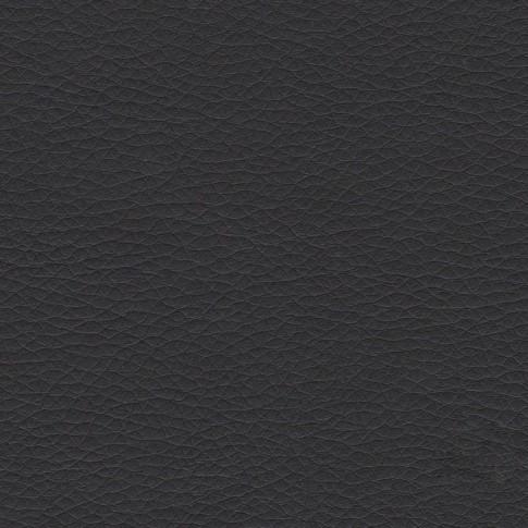 Pat dormitor Athos, matrimonial, tapitat, imitatie piele neagra, 160 x 200 cm, 3C
