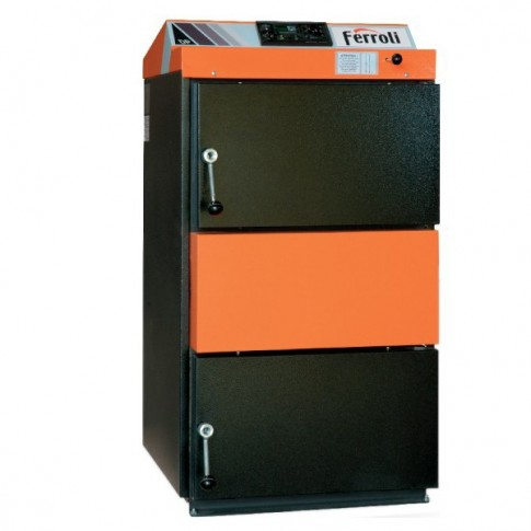 Cazan gazeificare Ferroli DP35 electronic