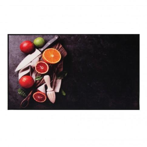Covoras bucatarie Davo Pro 33021 Citrice naylon dreptunghiular multicolor 67 x 120 cm
