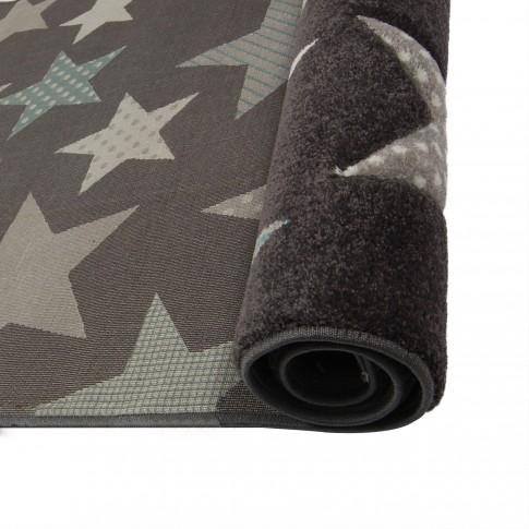 Covor camera copii Sintelon Limbo 49GSG polipropilena dreptunghiular negru 120 x 170 cm