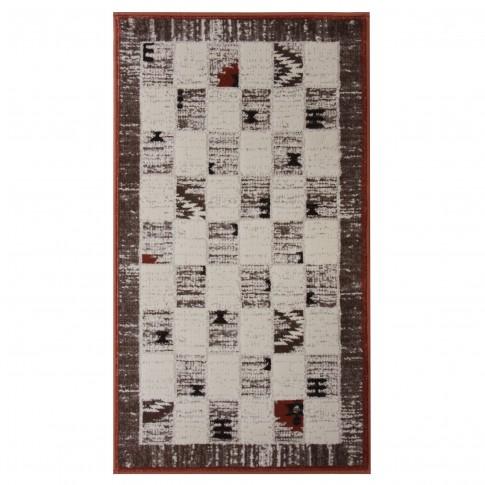 Covor living / dormitor Carpeta Delta 81731-43232 polipropilena heat-set dreptunghiular bej 120 x 170 cm