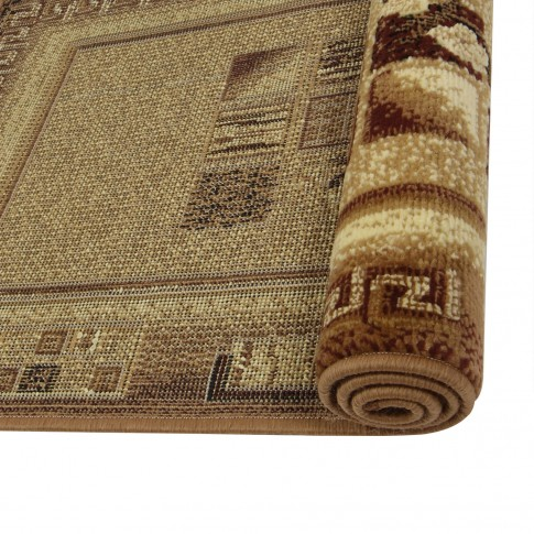 Covor living / dormitor Carpeta Berber 04491-20224 polipropilena BCF dreptunghiular crem 80 x 160 cm