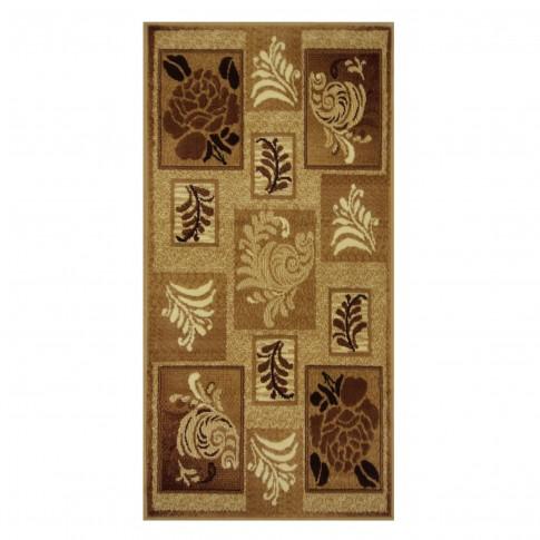 Covor living / dormitor Carpeta Berber Grafica 45891-20222 polipropilena BCF dreptunghiular crem 80 x 150 cm